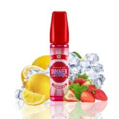 dinner lady ice strawberry bikini ml shortfill