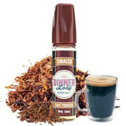 Café Tobacco 50ml - Dinner Lady Tobacco
