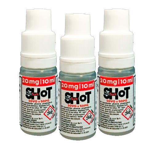 chemnovatic salt nicshot vpg mg ml pack