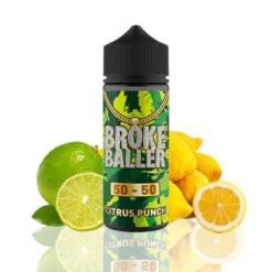 broke baller citrus punch ml shortfill