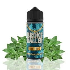 broke baller menthol blast ml shortfill