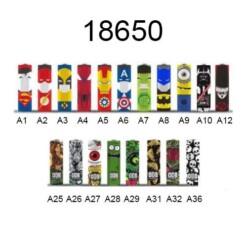 Wrapper Baterias 18650