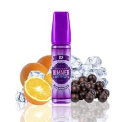dinner lady ice black orange crush ml shortfill
