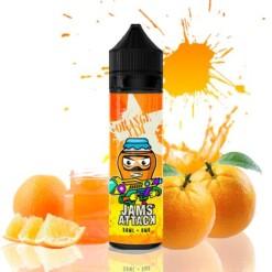 jams attack orange marmalade ml shortfill