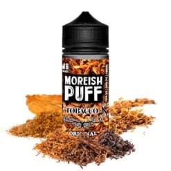moreish puff tobacco original ml shortfill