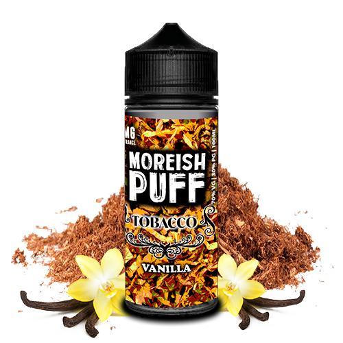 moreish puff tobacco vanilla ml shortfill