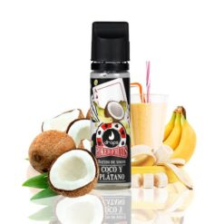 drops poker fruits batido de coco platano ml shortfill