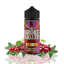 broke baller cherry menthol ml shortfill