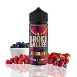 broke baller forest fruits ml shortfill