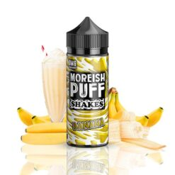 moreish puff shakes banana ml shortfill