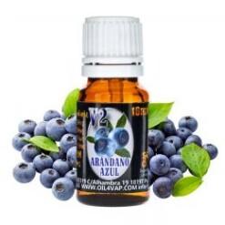 aroma arandano azul v ml oil vap