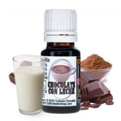 aroma chocolate con leche ml oil vap