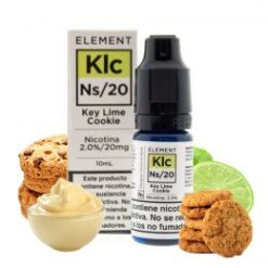 key lime cookie element e liquid