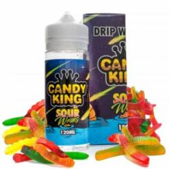 sour worms candy king