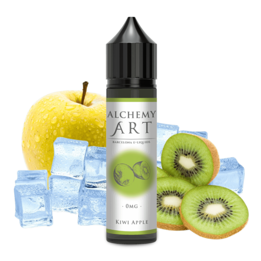kiwi apple alchemy art e-liquido