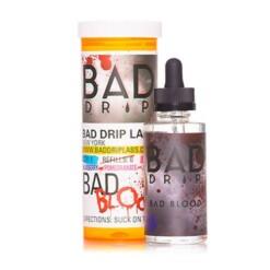 bad blood ml eliquid shortfills by bad drip x