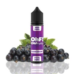 ohfruits e liquids blackcurrant ml shortfill