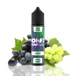 ohfruits e liquids grape ml shortfill