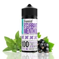frumist menthol series b acute currant menthol ml