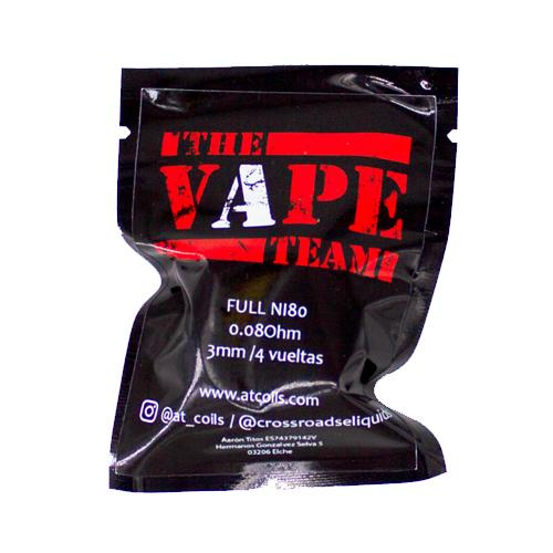 at coils the vape team ohm pack