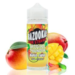 Bazooka Sour Straws Tropical Thunder Mango Tango 100ml