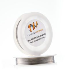 twisted messes wire nichrome scaled