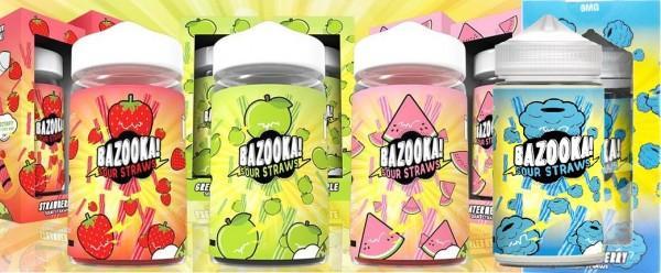 Bazooka Sour Straws all x