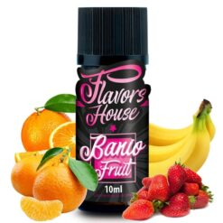 aroma banio fruit ml flavors house by e liquid france
