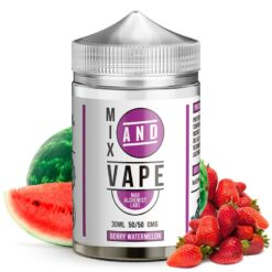berry watermelon ml mix and vape by mad alchemist