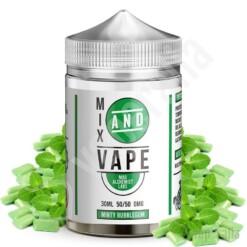 minty bubblegum ml mix and vape by mad alchemist