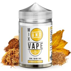 tobacco gold ml mix and vape by mad alchemist