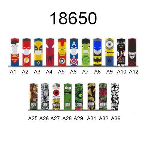 Wraps ODB Baterias18650