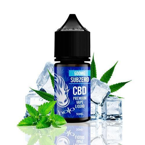 Halo CBD E-Liquid Subzero