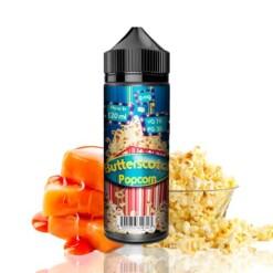 Fizzy Juice Butterscotch Popcorn