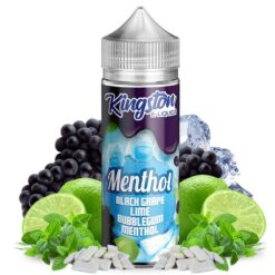 Black Grape, Lime Bubblegum Menthol Kingston E-liquids