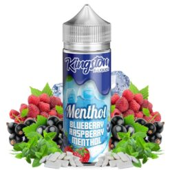 Blueberry Raspberry Menthol Kingston E-liquids