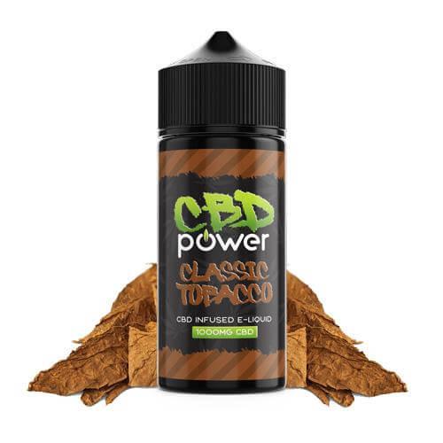 CBD Power CBD E-Liquid Classic Tobacco