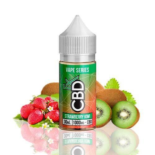 CBDfx CBD E-Liquid Strawberry Kiwi