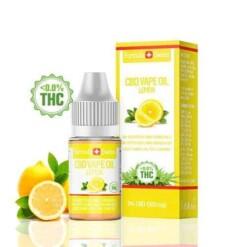 Formula Swiss E-liquid CBD Limón