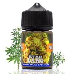 Orange County Cali CBD E-Liquid Star Dawg