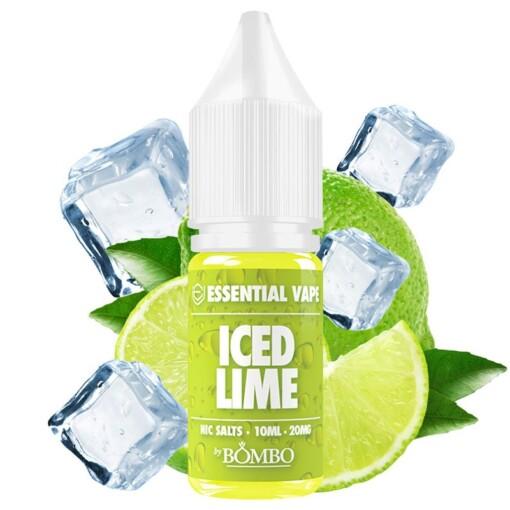 Iced Lime Nic Salts - Essential Vape
