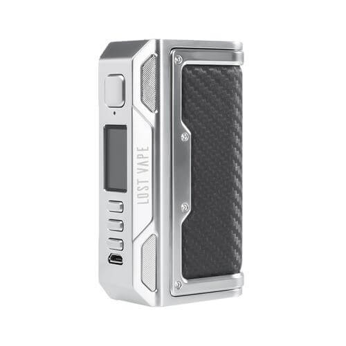 Thelema DNA 250C Mod Lost Vape silver