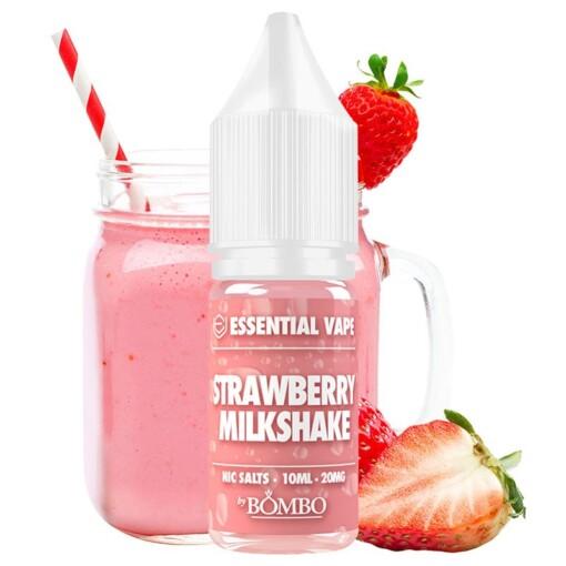 Strawberry Milkshake Nic Salts - Essential Vape