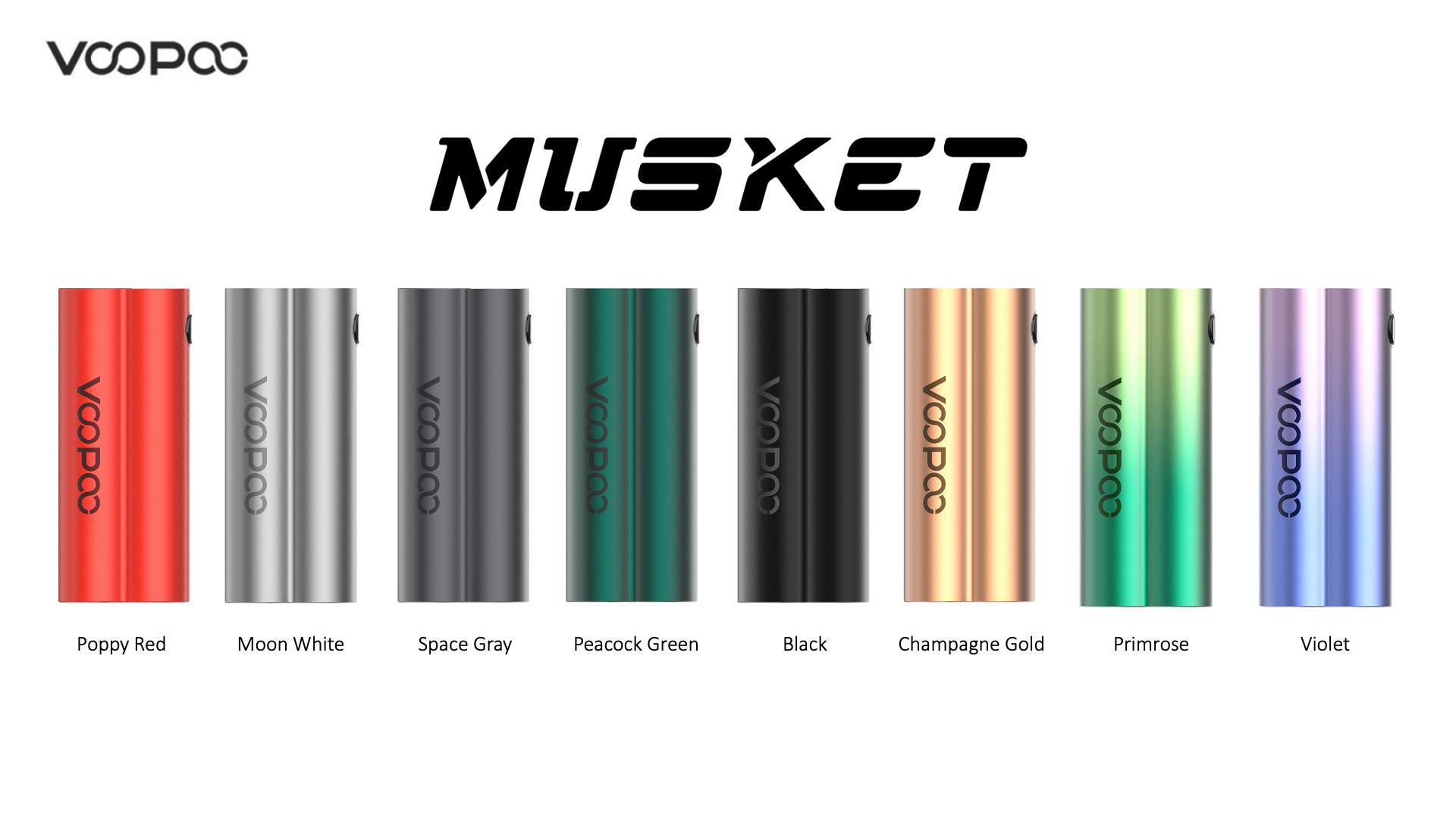 Mod Musket  Voopoo 120W