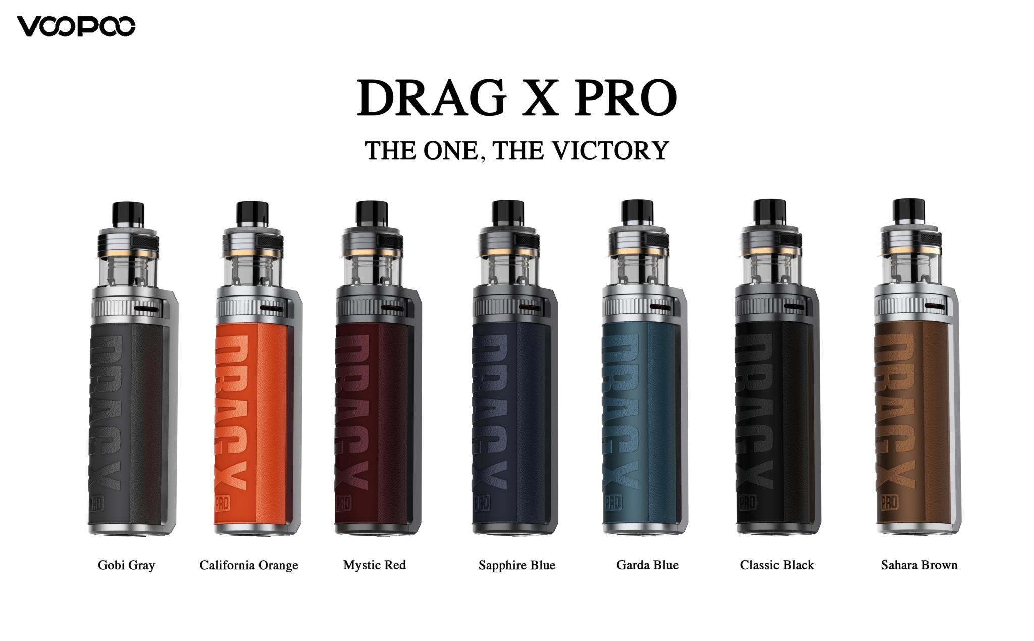 Drag X Pro 100W - Voopoo Colores